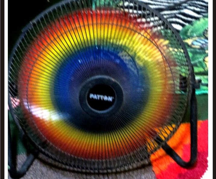 Easy Rainbow Fan Blades