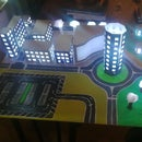 Arduino Based LED City Model (with Temperature Sensor)