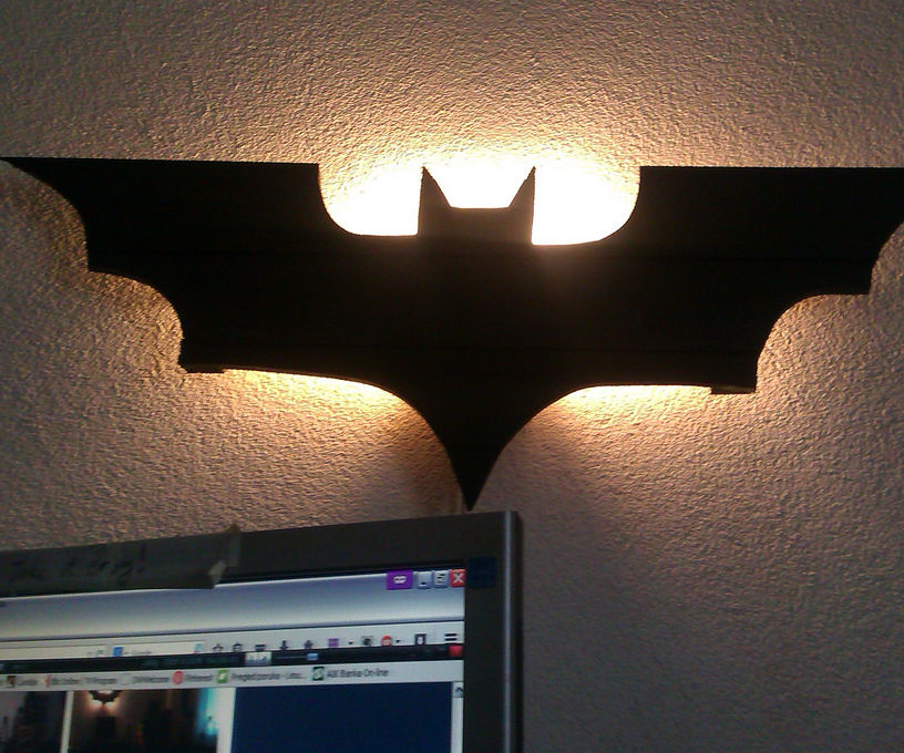 Batman lamp