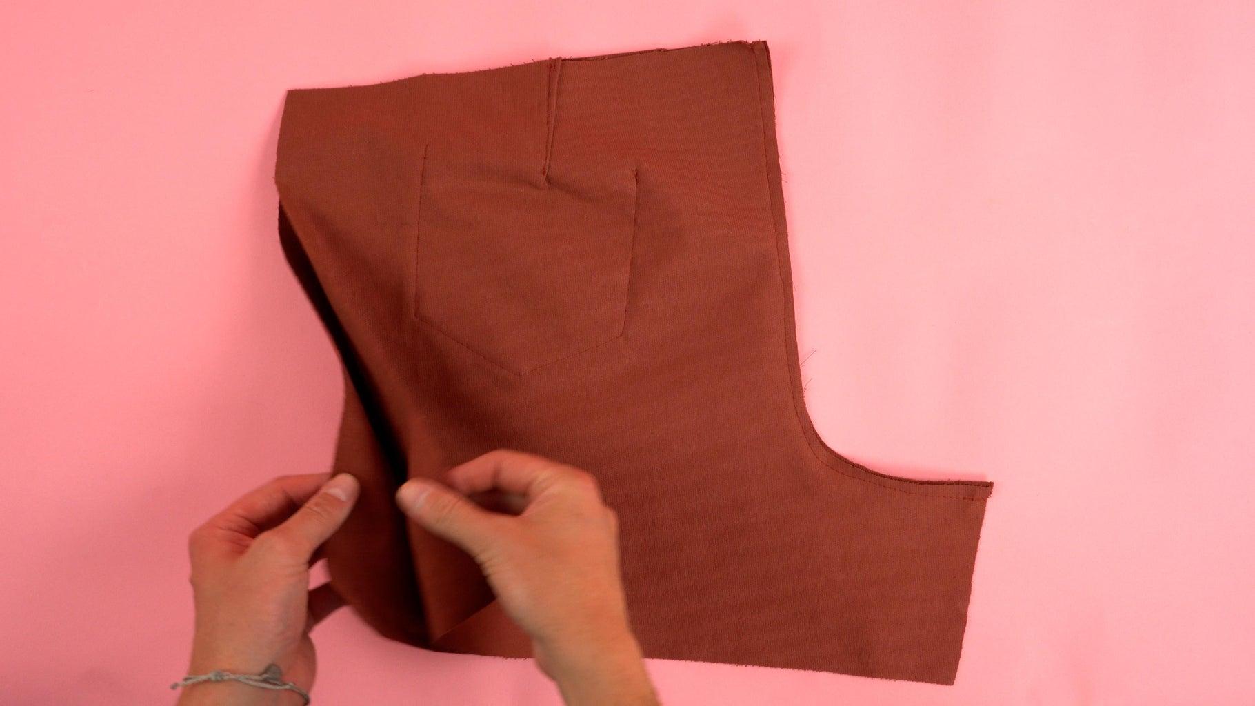 Assembling Back Pant Panels