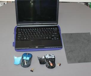Victim and Prankster Wireless Mouse Prank