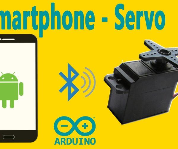 Arduino : How to Control Servo Motor Via Bluetooth (with Smartphone)
