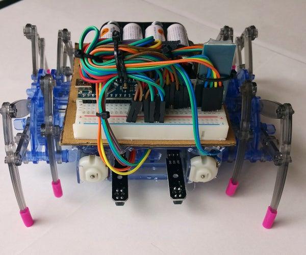 Enhanced Spider Robot