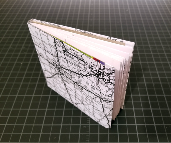 Make Your Own Folding Map Booklet