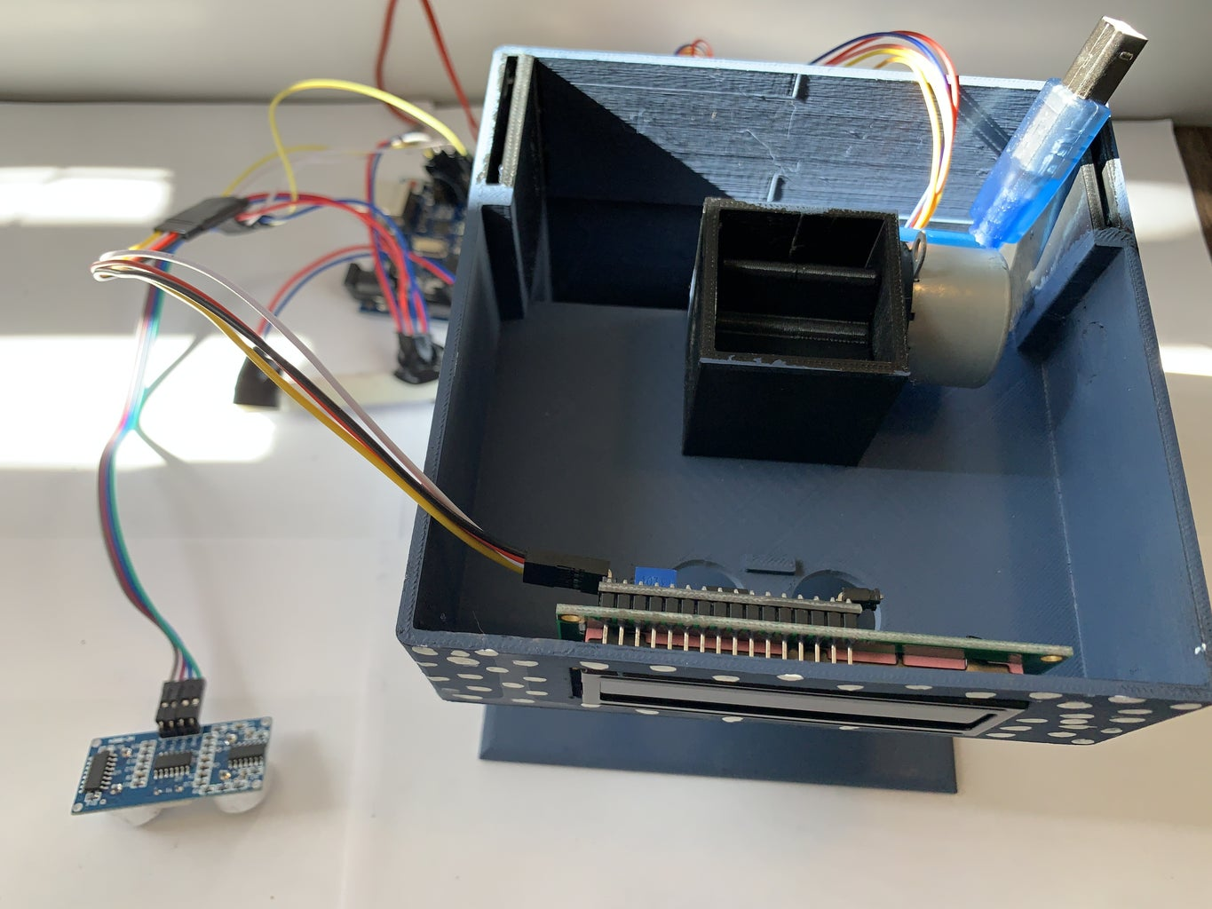 Install Components & Input Board