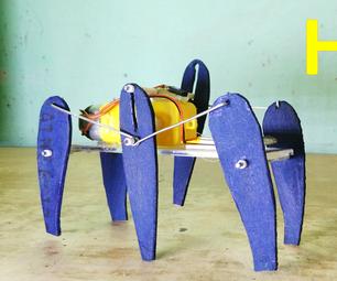 How to Make Six Legged Walking Robot - DIY Robot
