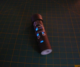 Multicolor Light Up Add on for the PVC Ocarina