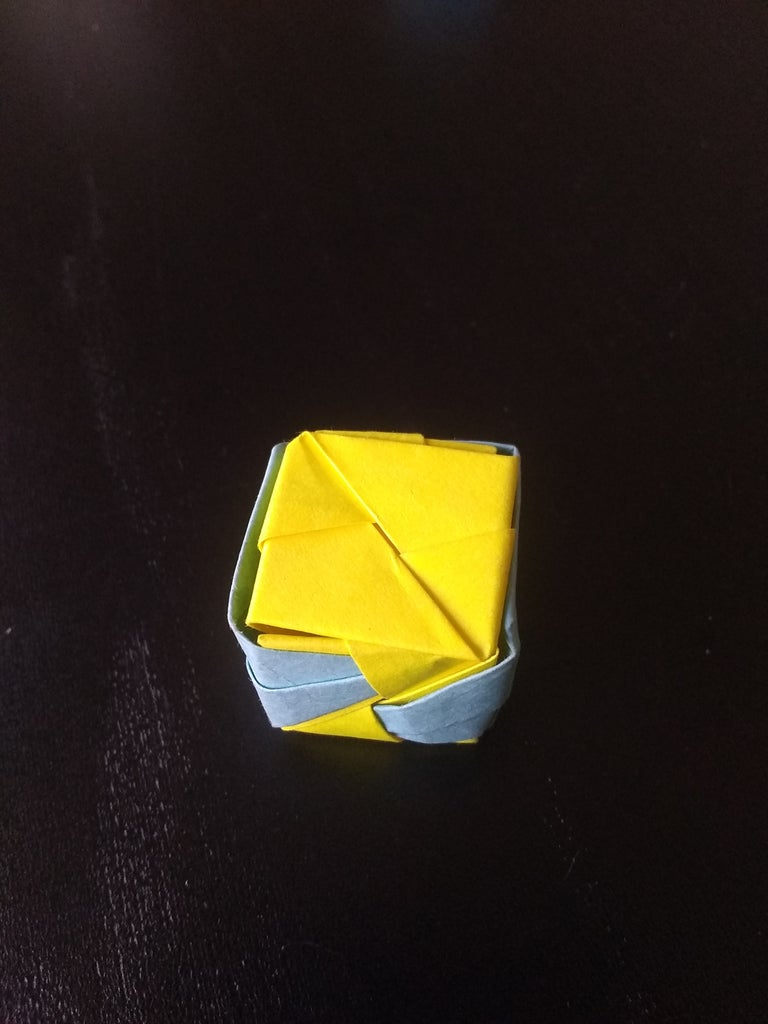 Construction of the Cube (with Lid), Pt 8