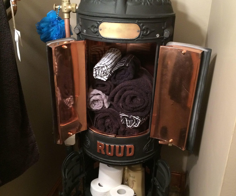 Steampunk Bathroom Cabinet