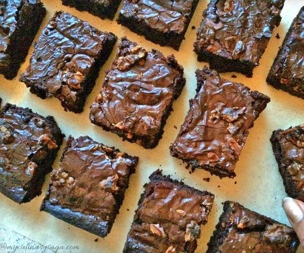 Fudgy Gluten Free Brownies