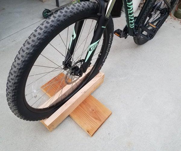 Scrap Wood to Bike Stand