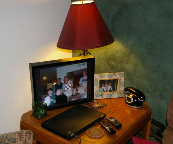 Wireless Raspberry Pi Digital Picture Frame in a Shadow Box