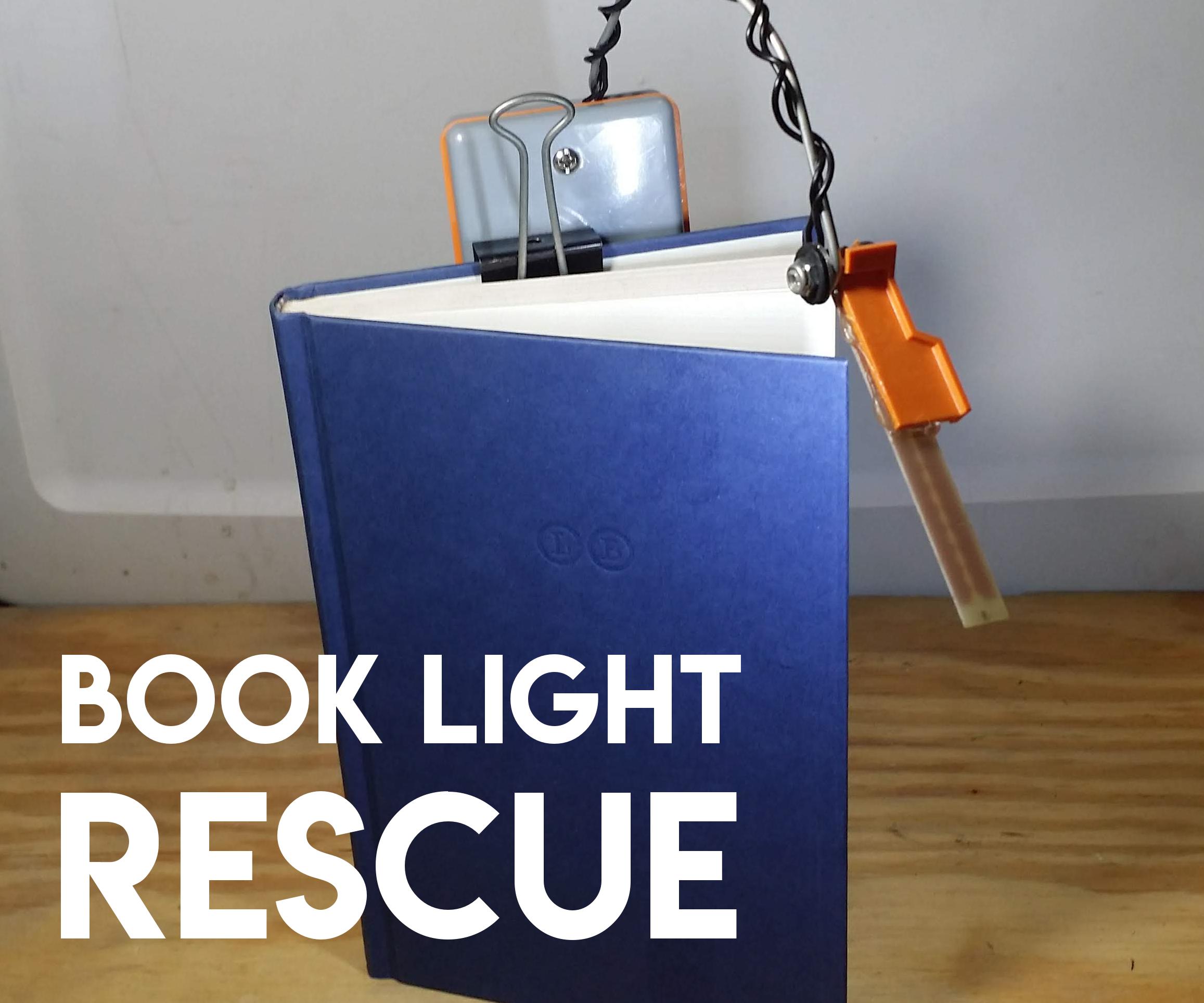 Book Light Rescue