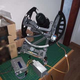 OpenAstroTracker - a DSLR Tracking & GoTo Mount for Astrophotography