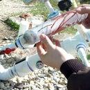 PVC Bait Launcher and 1st Test Launch