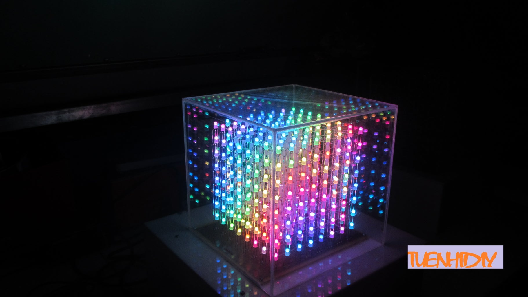 RGB Led Cube Pictures
