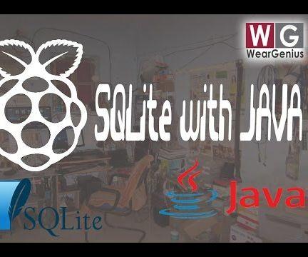 SQLite database access using JAVA on Raspberry Pi