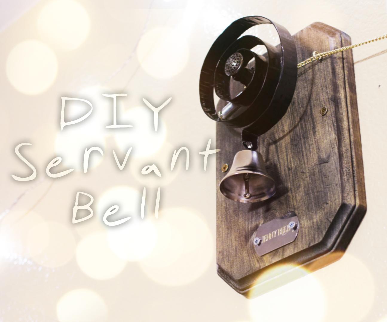 Downton Abbey Servant Bell