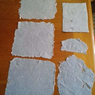 Homemade Paper