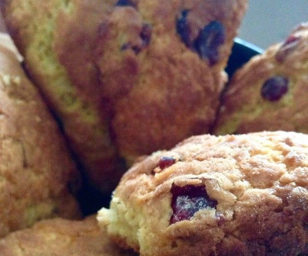 How to Make Scrumptious Scones of the Cranberry-orange Variety