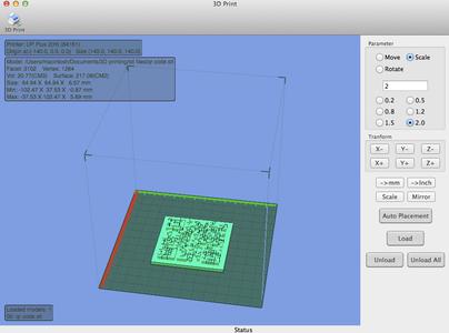 3D Print Your QR Code