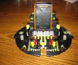 Quick and Dirty Cell Phone Stand Out of Legos.