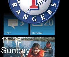Transparent Lockscreen for Windows Phone 7 Mango