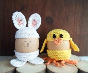 Cute Crochet Egg Holder