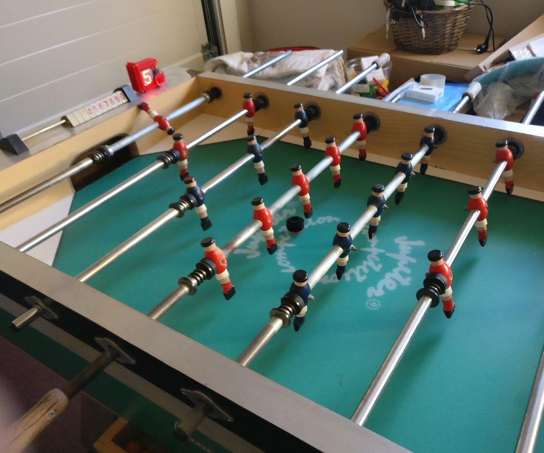 Raspberry Pi IoT Foosball Table