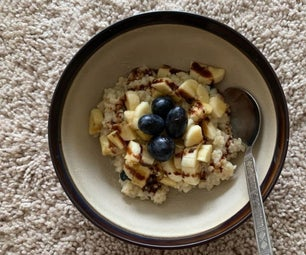 Bulgar Wheat Pudding