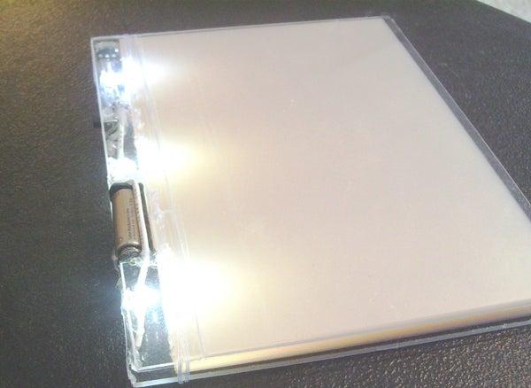 100% Clear Light-up Journal