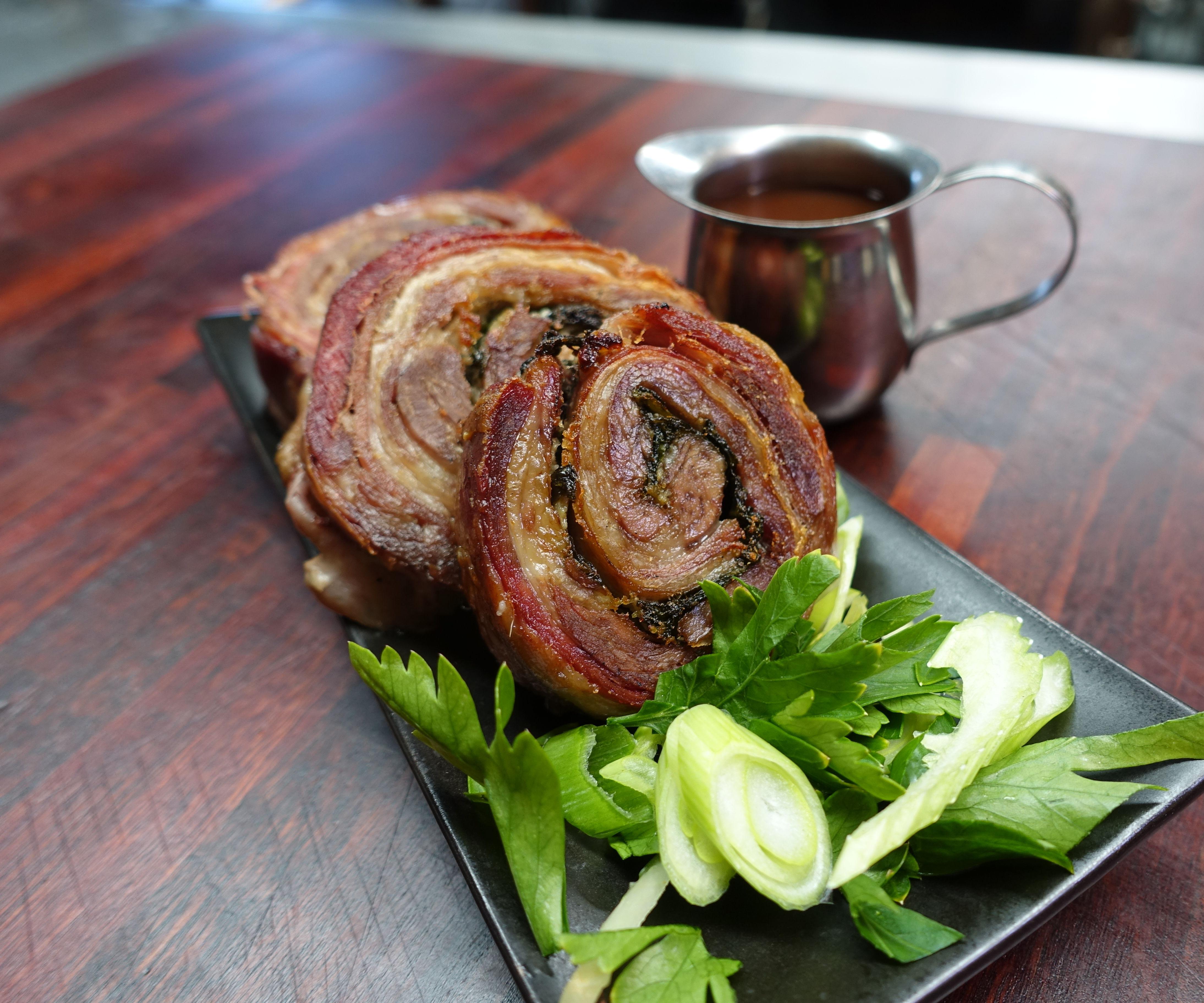 BBQ Lamb Roularde