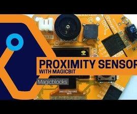 Make a Proximity Sensor With Magicbit [Magicblocks]
