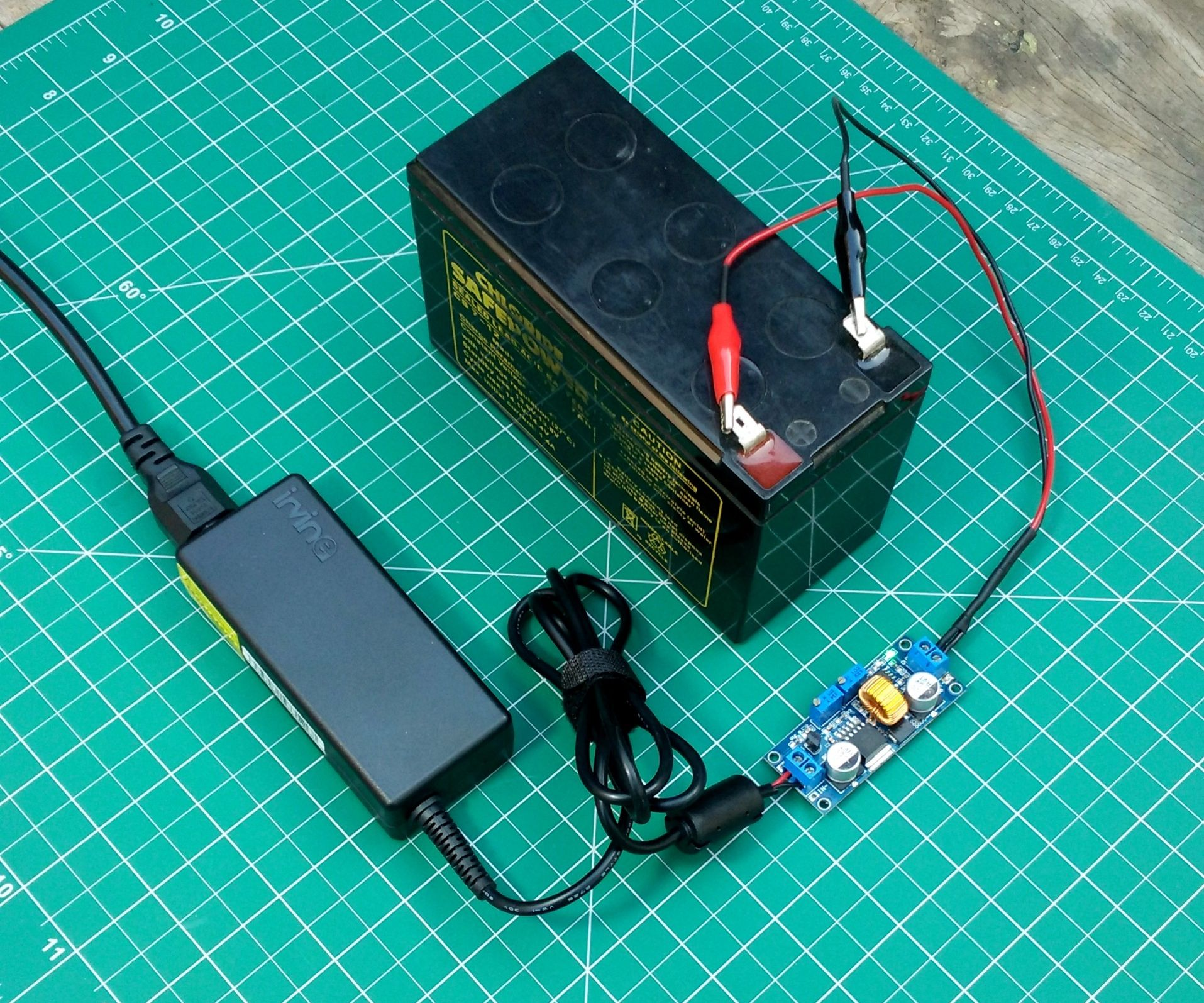 How to Make 12v Battery Charge