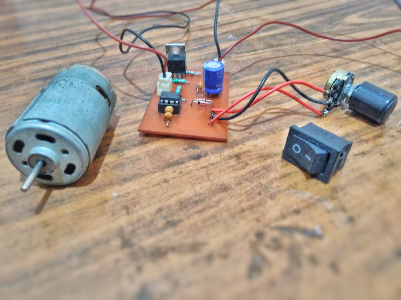 Variable Motor Speed Controller