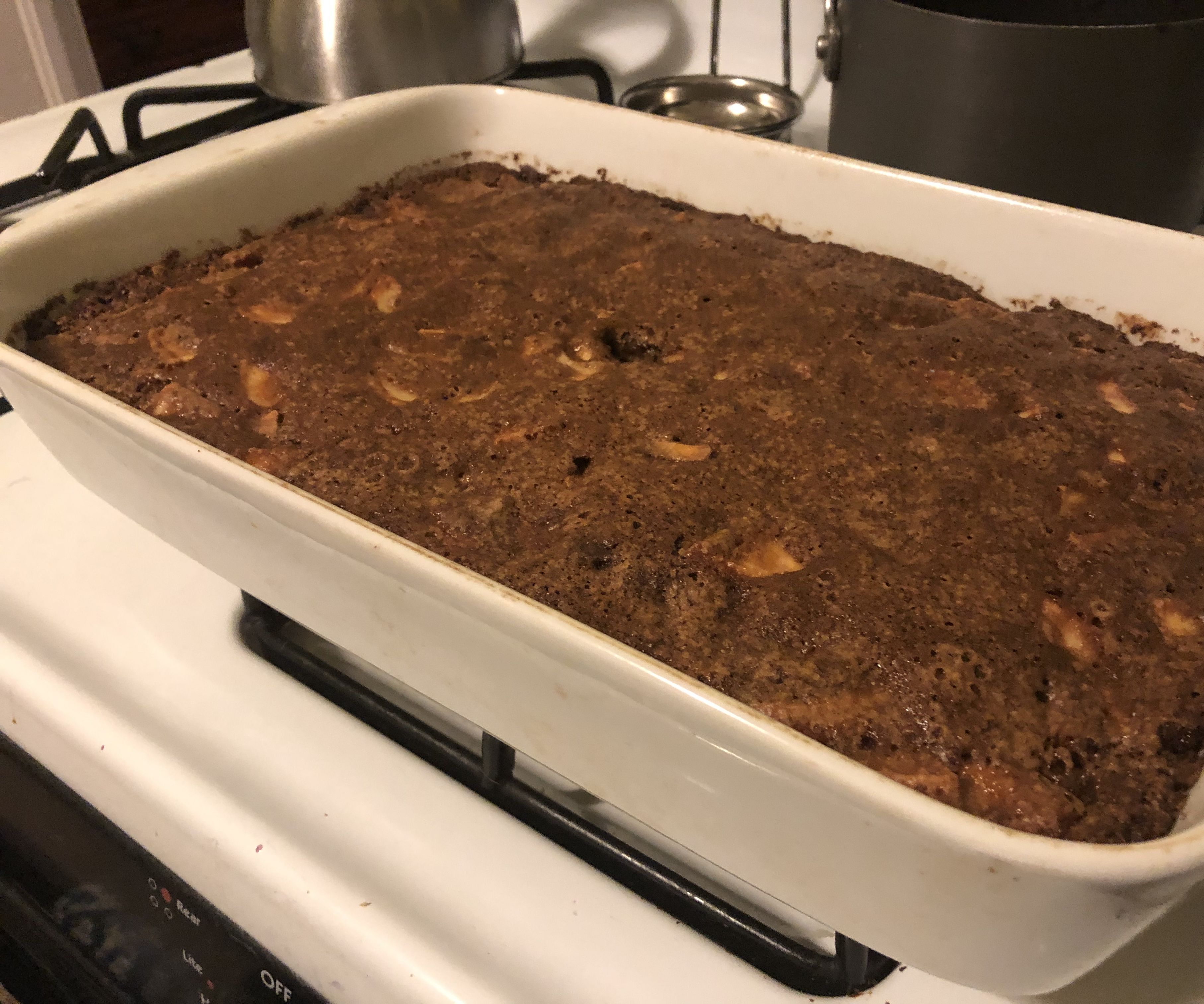 Grandmother Elise's Easy Apple Cake W/bonus Blueberry Applesauce