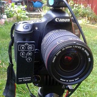 Long-Range Canon DSLR Video Trigger (V2, Greatly Simplified)