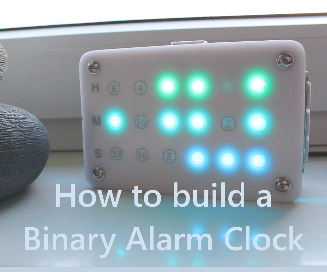 DIY Binary Alarm Clock