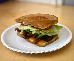 Extra Bacon-y BLT With Avocado & Fried Egg