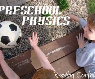 Preschool Physics: Having a Ball With Books