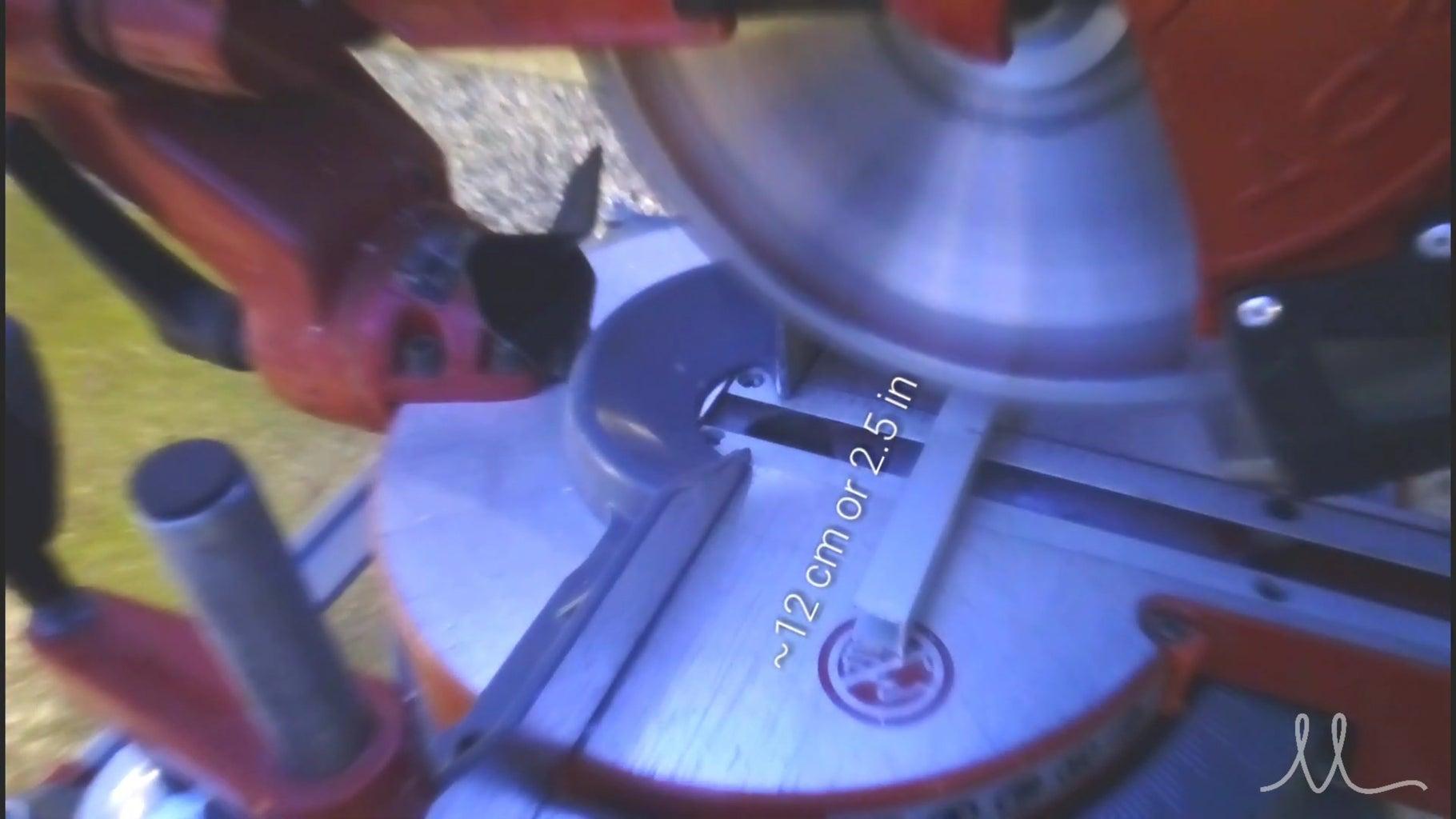 Prepare the Aluminum Extrusion (profile)