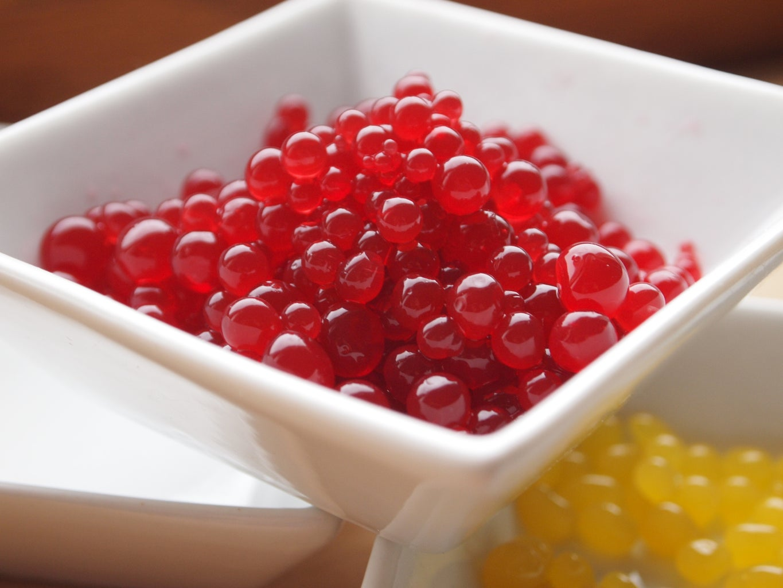 Juicy Spheres Snack - Easy Kitchen Science