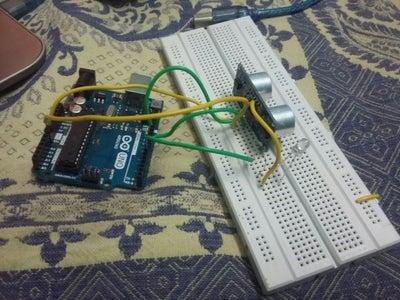 Step 1: Setting Up Ultrasonic Sensor.
