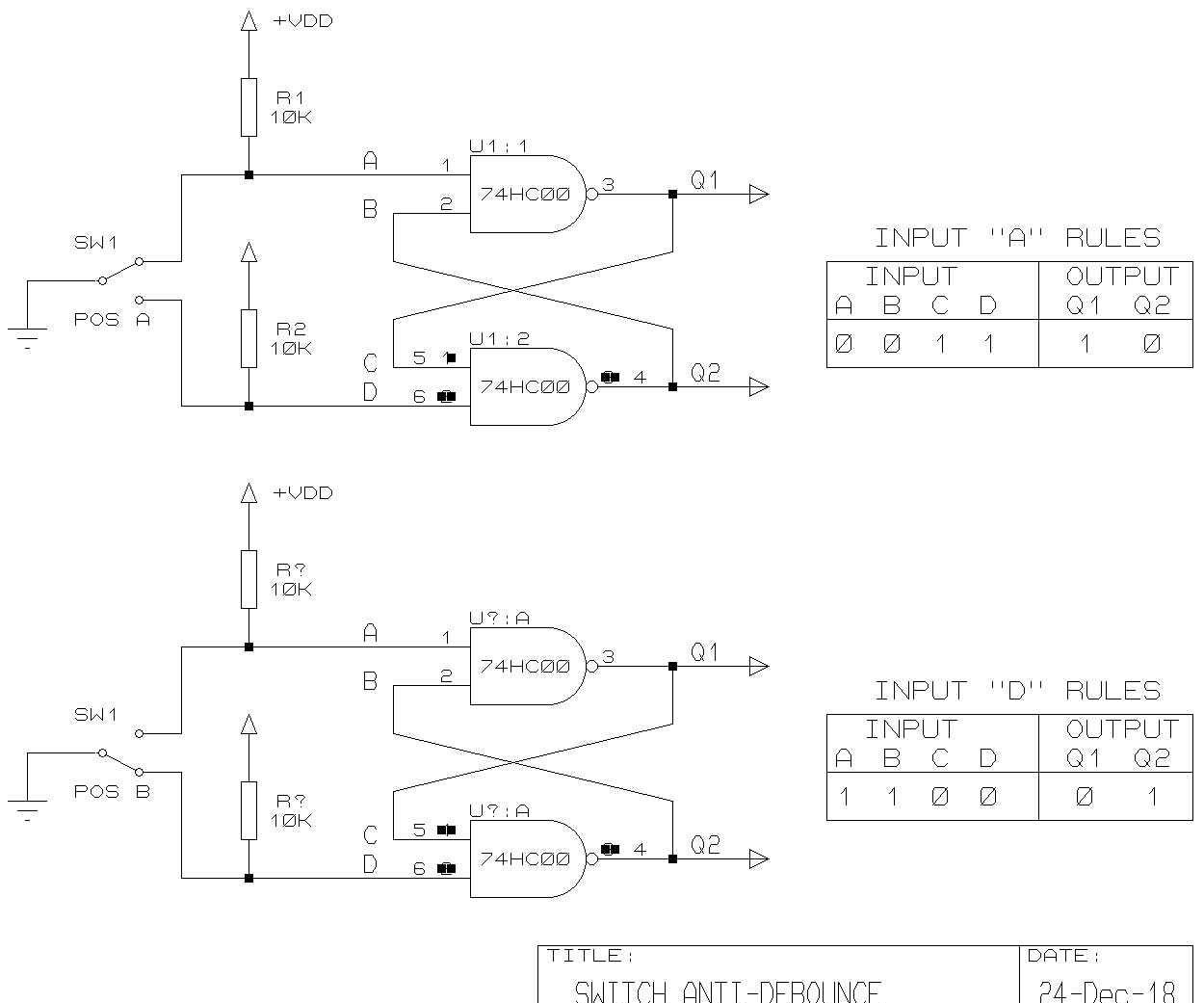 Switch-Debounce Eliminator