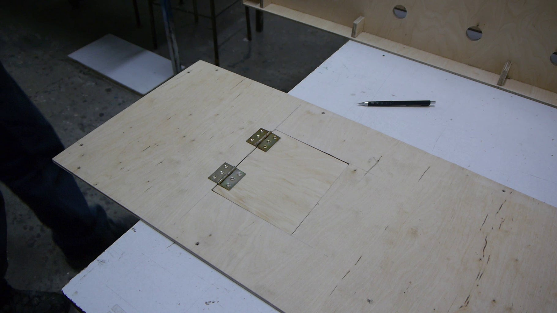 Back Covers - Pre-drilling and Controller Door
