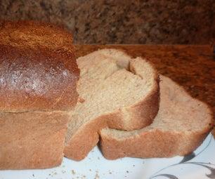 全麦面包没有揉捏