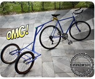 Biga, the Bike Trailer