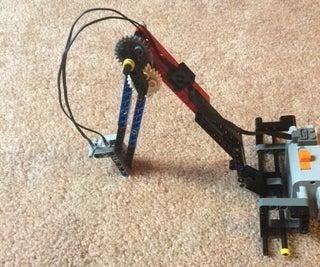 LEGO Reading Light Utilizing Simple Machines