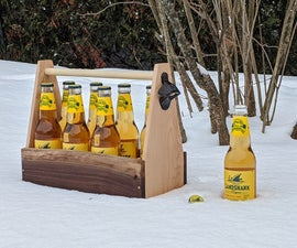 Live Edge Beer Caddy - 8 Pack