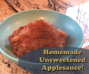Easy 5 Ingredient Applesauce